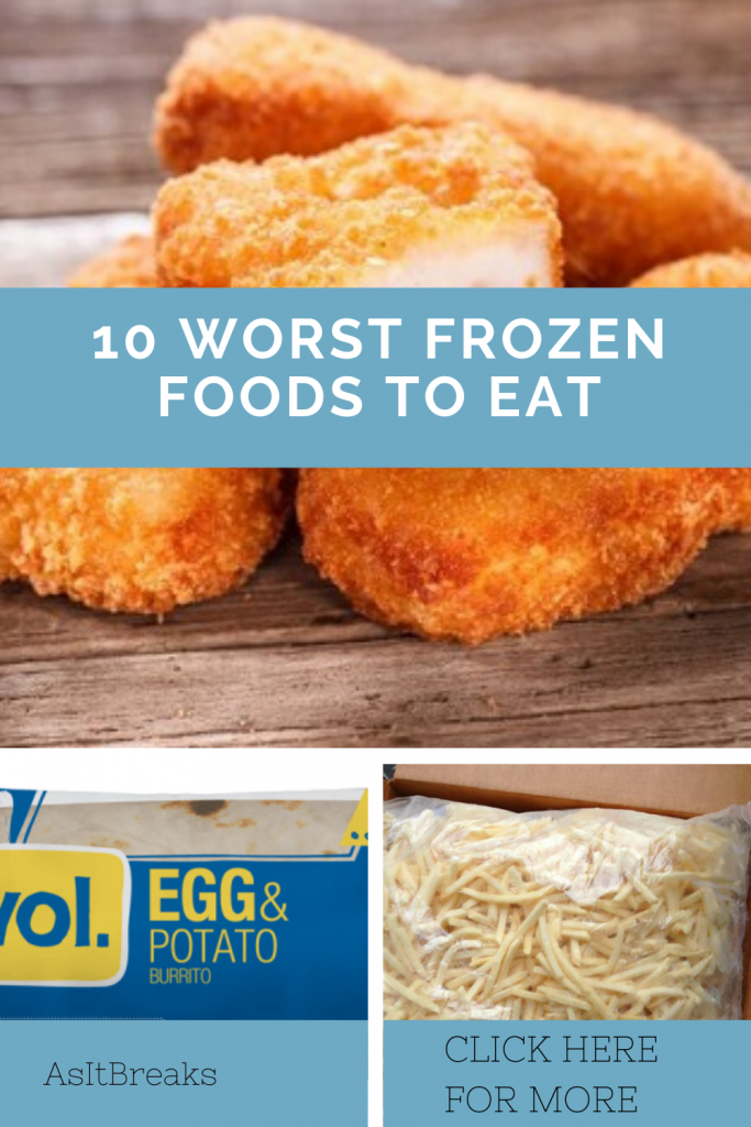 10 Worst Frozen Foods That Are Detrimental To Your Health